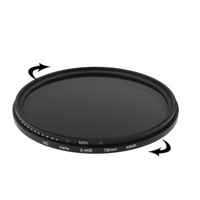 72 mm ND-Filter Gråfilter variabelt