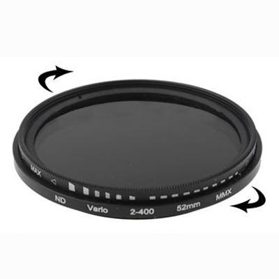 52 mm ND-Filter Gråfilter variabelt