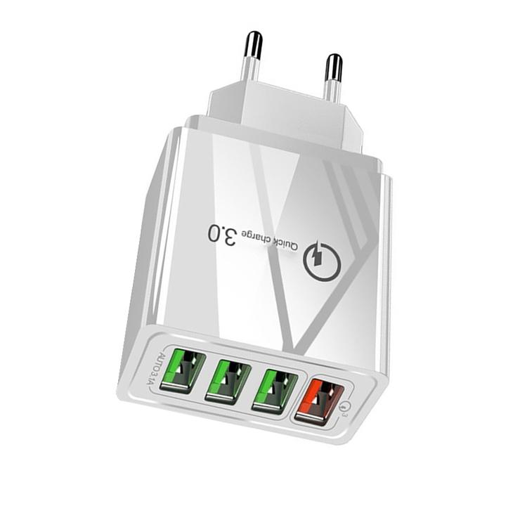 30 W, 1 snabbladdare USB 3.0 + 3 st USB 2.0 uttag i ett