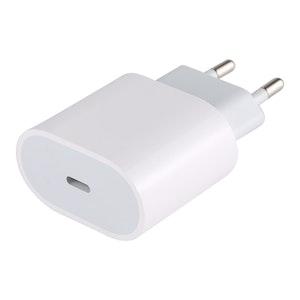 20W USB-C Snabbladdare, Väggladdare