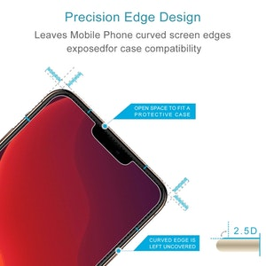 iPhone 12 / 12 Pro skärmskydd av härdat glas