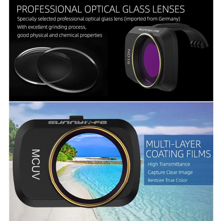 DJI Mavic Mini / Mini 2,  6-Pack ND-Filter