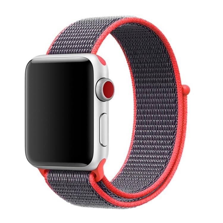 38 & 40 mm armband för Apple Watch i nylon (Magenta)
