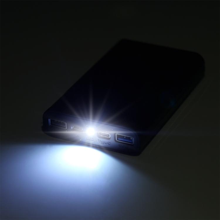 Powebank och laddare för 4 st 18650 batterier med LED display