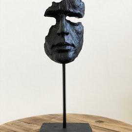 Skulptur Ansikte