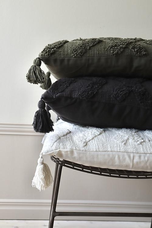 Cora Kuddfodral med tuftat mönster