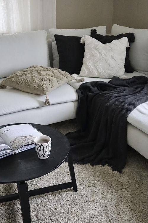 Cora Kuddfodral med tuftat mönster - Lin