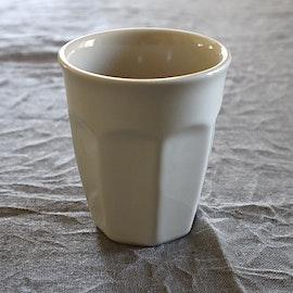Mynte Lattemugg - Gräddvit
