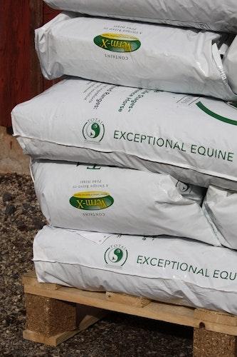 TOTAL Horse Feed - EU Pall 48 säckar, frakt ingår.