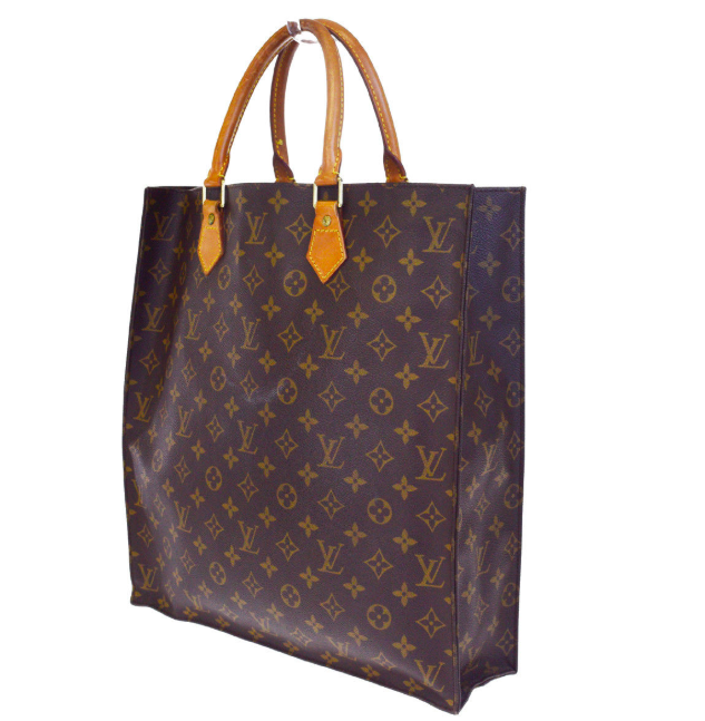 LOUIS VUITTON Sac Plat Monogram Canvas