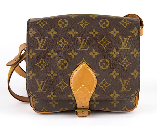 LOUIS VUITTON Cartouchiere MM Monogram Canvas