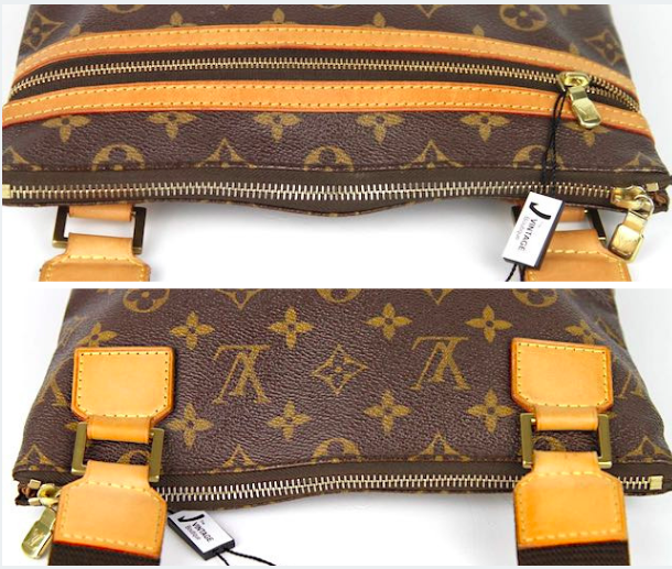 LOUIS VUITTON Pochette Bosphore Monogram Canvas