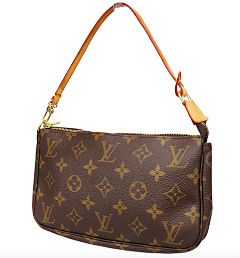 LOUIS VUITTON Monogram Canvas Pochette Accessories Väska