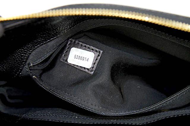 CHANEL VÄSKA Kaviar Läder
