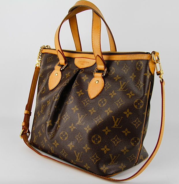 LOUIS VUITTON Palermo PM Monogram Canvas Väska