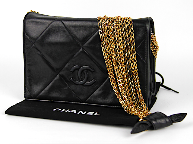 CHANEL Single Full Flap Vintage Väska