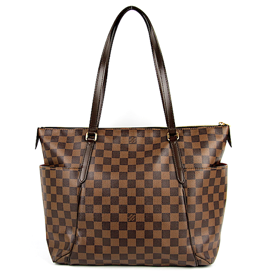 LOUIS VUITTON Damier Canvas Totally GM Väska
