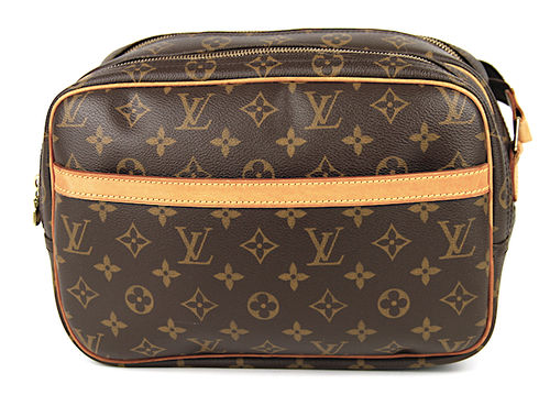 LOUIS VUITTON REPORTER PM Monogram Canvas Väska