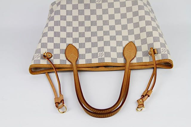 LOUIS VUITTON NEVERFULL PM Damier Azur Väska