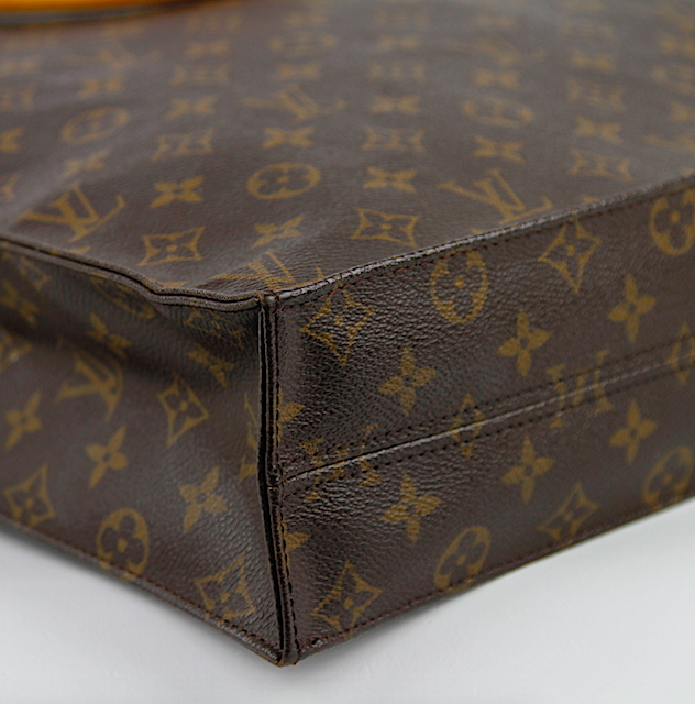 LOUIS VUITTON Monogram Canvas SAC PLAT Väska