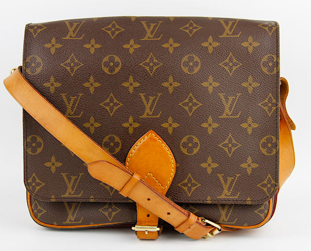 LOUIS VUITTON Monogram Canvas Cartouchiere GM Bag