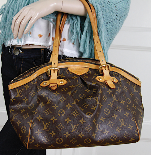 LOUIS VUITTON TIVOLI GM Monogram Canvas Väska