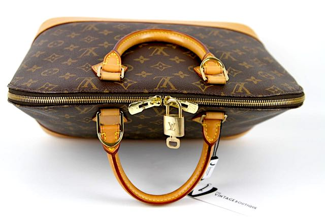 LOUIS VUITTON Alma PM Monogram Canvas Väska