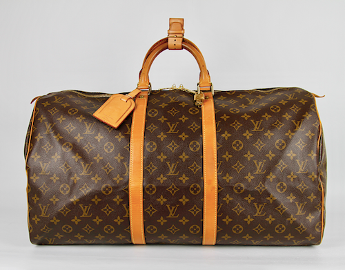 LOUIS VUITTON Keepall 55 Monogram Canvas Väska