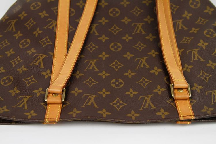 LOUIS VUITTON SAC Shopping Väska Monogram Canvas