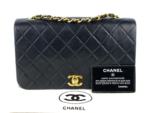 CHANEL SINGLE FLAP VÄSKA