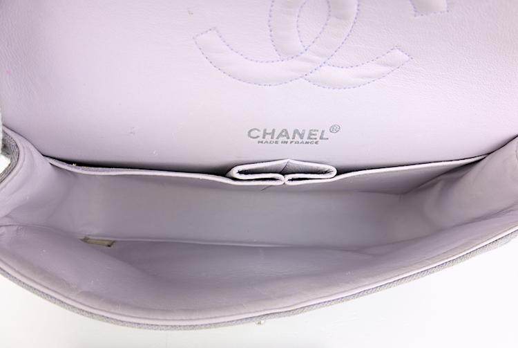 Chanel Double Flap Bomull Väska