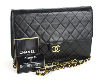 Chanel Vintage Single Flap Väska