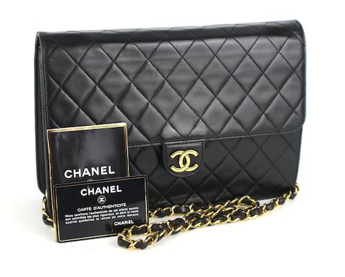 Chanel Vintage Single Flap Väska