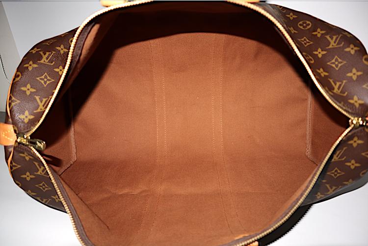 Louis Vuitton Keepall 55 Monogram Canvas Väska