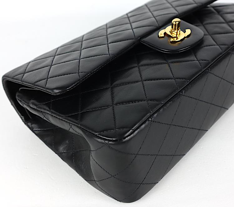 Chanel Classic Medium Double Flap Väska kort,dustbag,kartong,äkthetsintyg