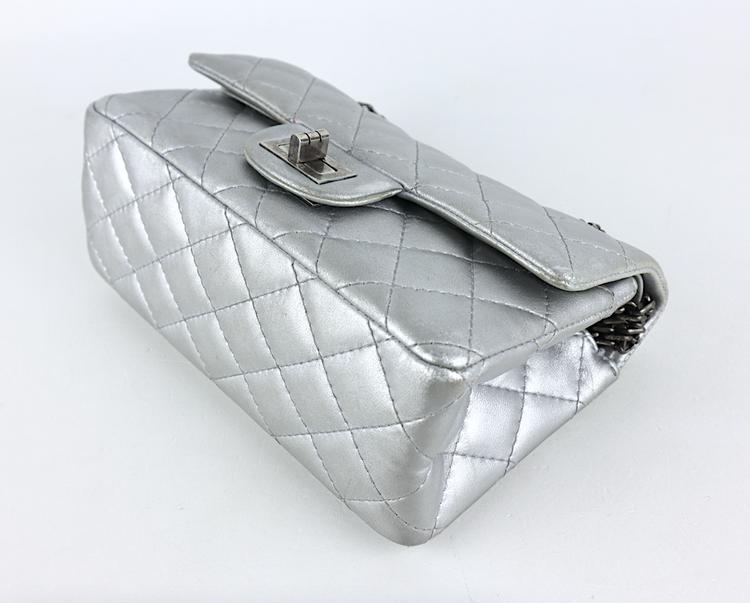Chanel Mini Reissue Silver Väska
