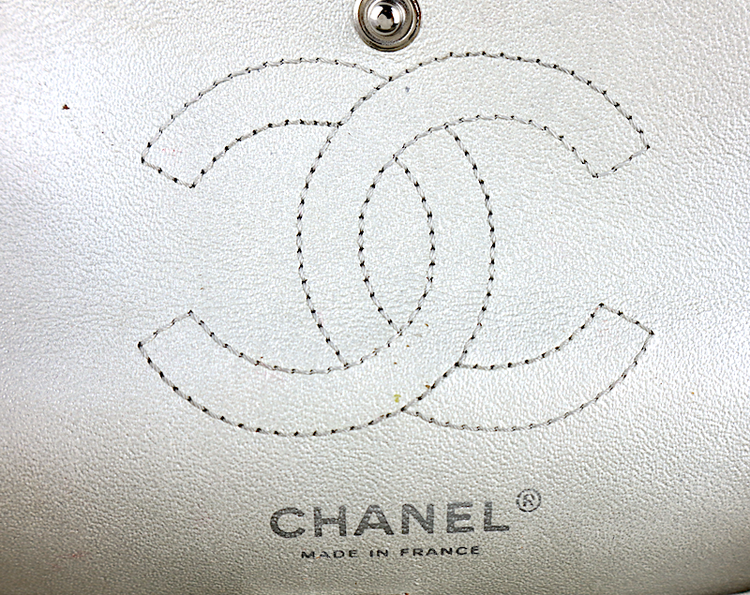Chanel Mini Reissue Silver Väska