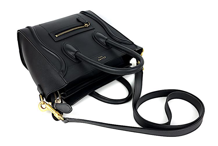 Celine Nano Luggage Svart Väska