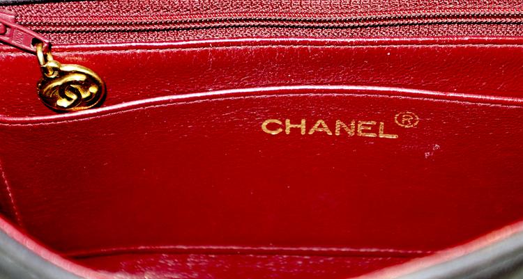Chanel Diana Small Brun Väska
