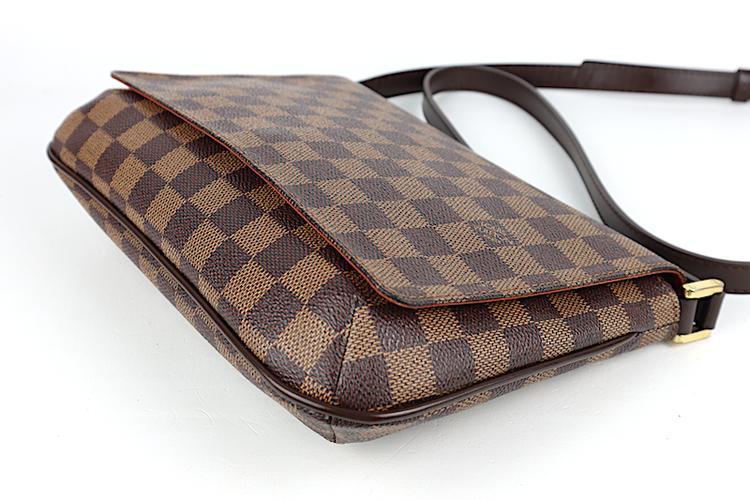 Louis Vuitton Damier Canvas Musette Tango Väska med Lång rem