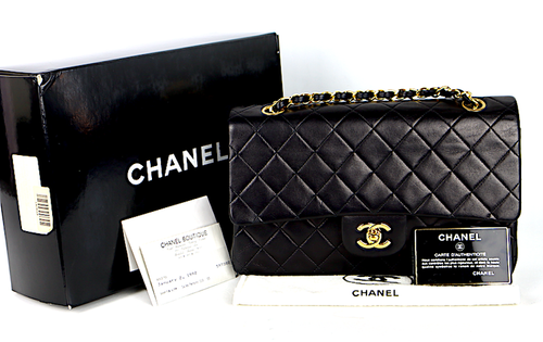 Chanel Classic Medium Double Flap Väska / Kvitto - Reserverad