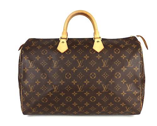 Louis Vuitton Speedy 40 Monogram Canvas Väska