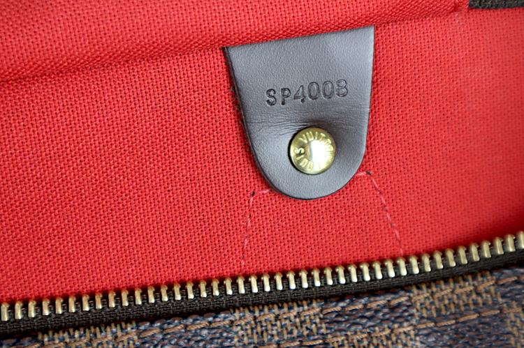 Louis Vuitton Speedy 35 Damier Ebene Canvas Väska