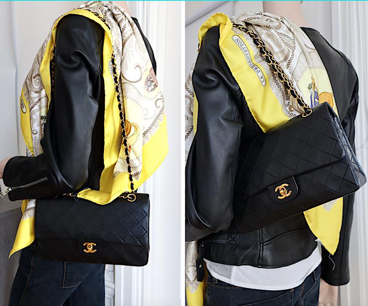 Chanel Classic Medium Double Flap Väska - kort,dustbag,kartong