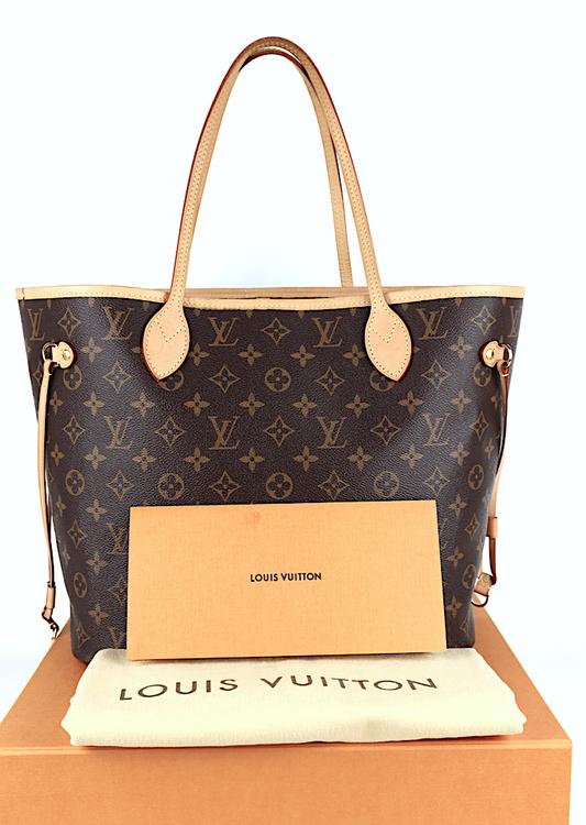 Louis Vuitton Neverfull MM Monogram Canvas Väska