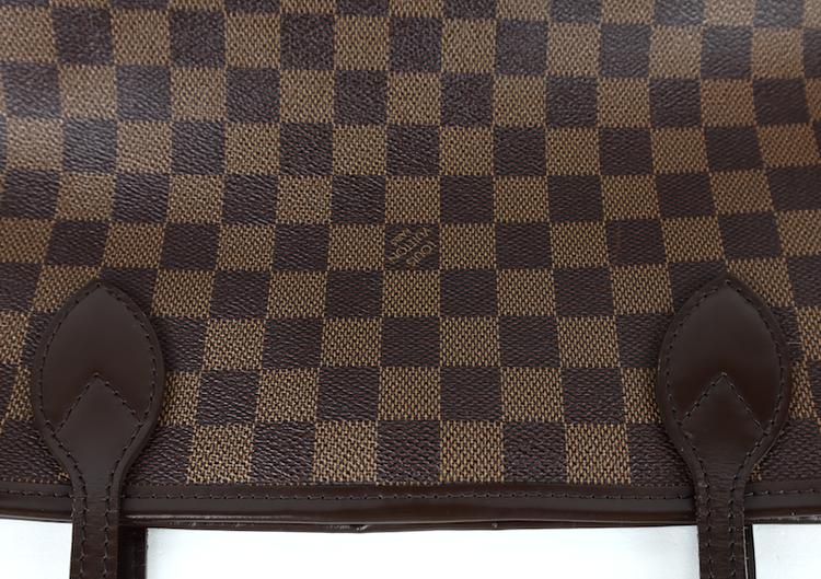 Louis Vuitton Neverfull MM Damier Ebene  Canvas Väska