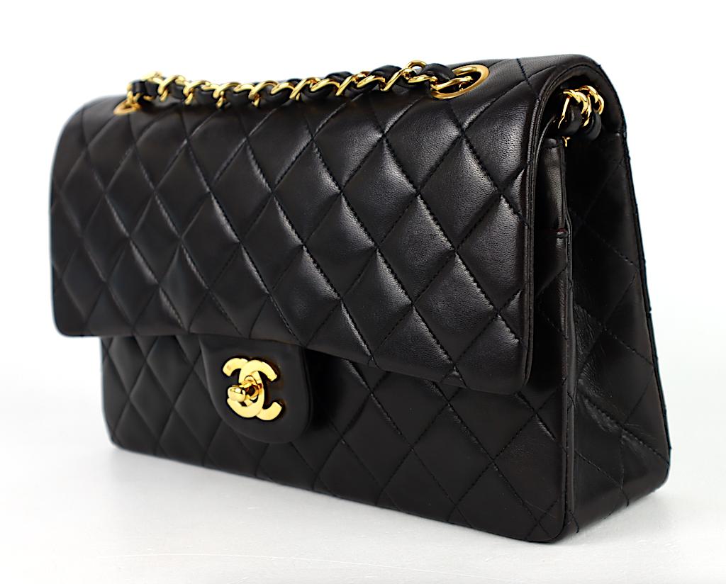 Chanel Classic Medium Double Flap Väska /Kort,Dustbag