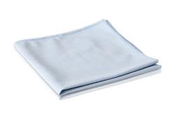 Fönsterduk/Glasduk Unger microfiber, 40x40cm, blå