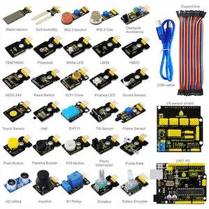 Keyestudio sensor kit, kompatibel med Arduino