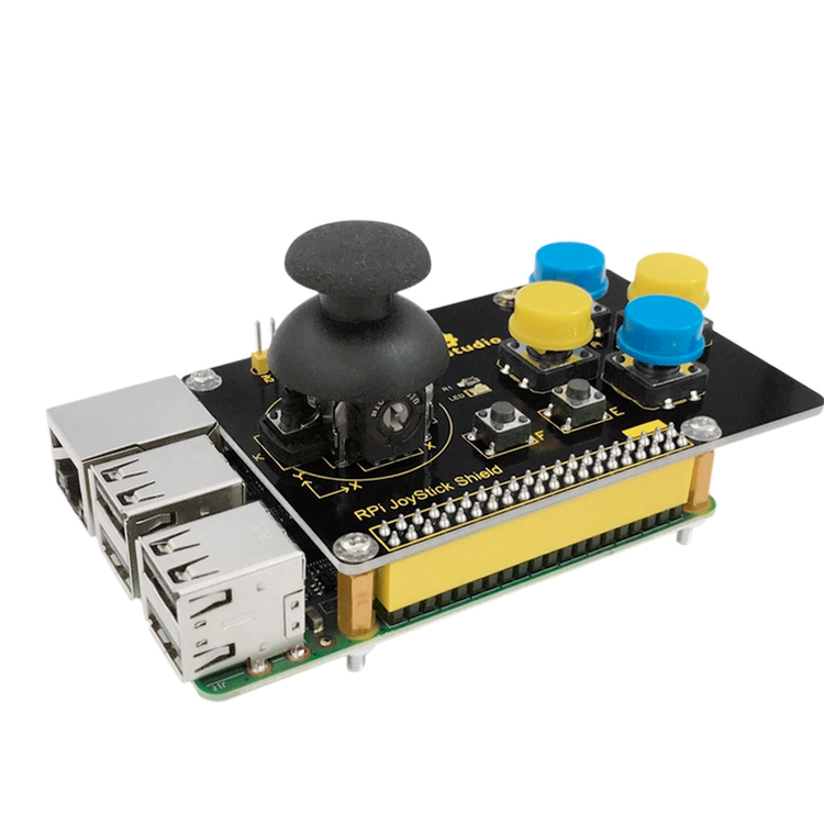 Joystick shield för Raspberry Pi